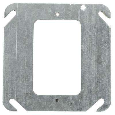 1-Gang Square Mud Ring (Case of 25)