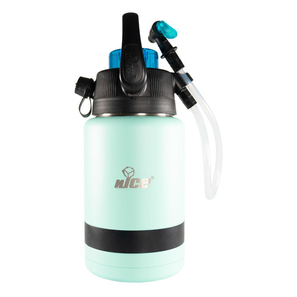 Pump2Pour 1 Gal. Seafoam Insulated Jug With Hose and Spout