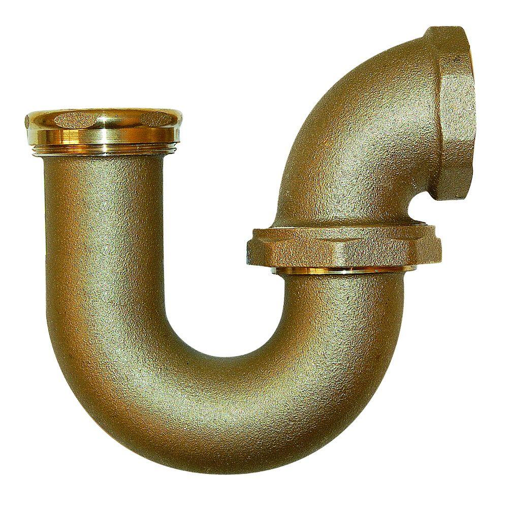 Favorite Brass - Traps - Brass Fittings - The Home Depot ZW63