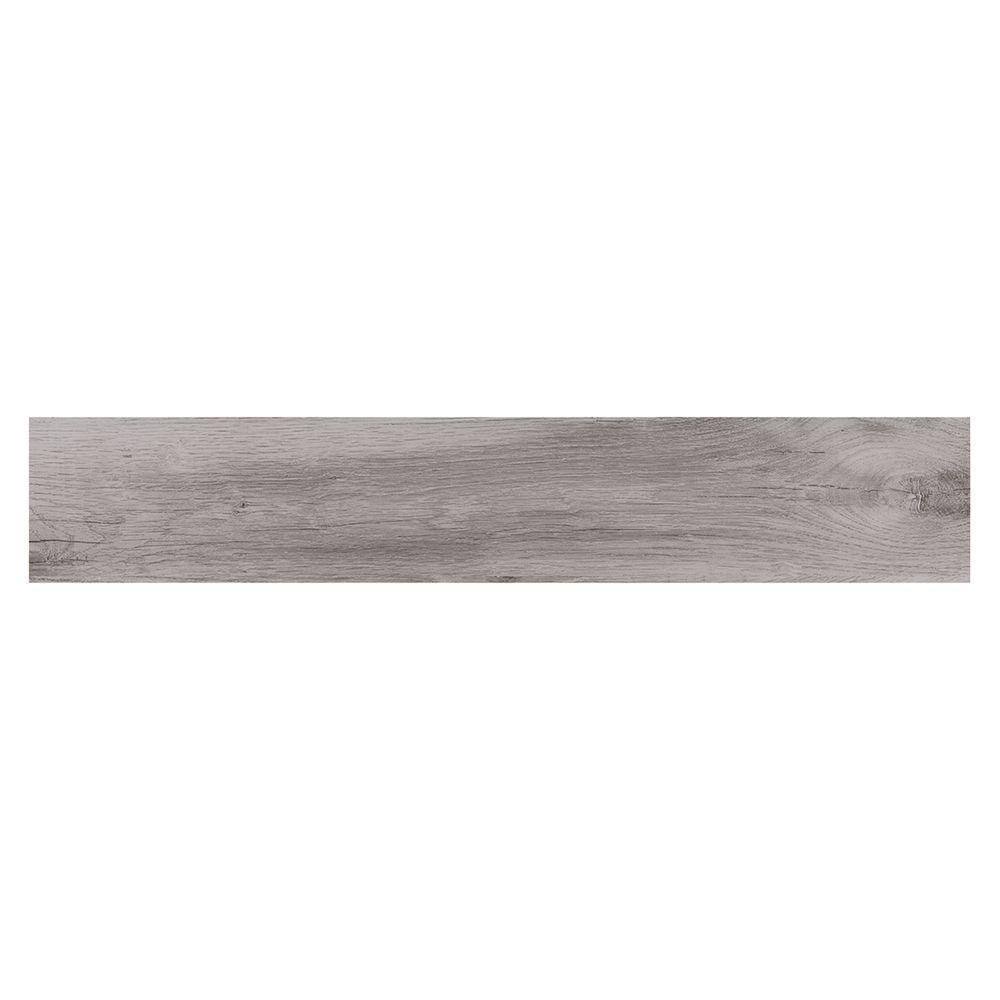 Montagna Dovewood 6 in. x 36 in. Glazed Porcelain Floor and