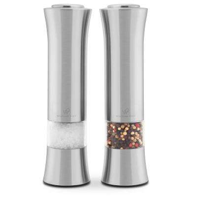 Stainless Steel Spice Mill (Pack of 2)