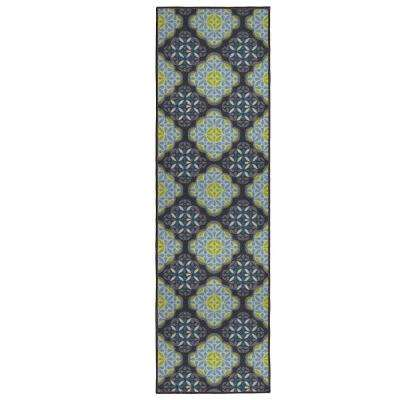 Olivia Multi 2 ft. x 5 ft. Area Runner Rug