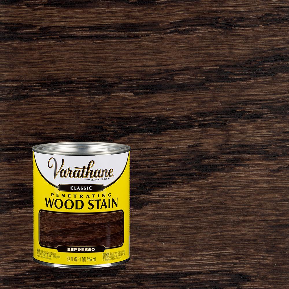 Varathane 1 Qt Espresso Classic Wood Interior Stain