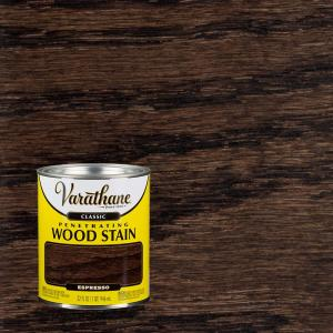 Varathane 1 qt espresso classic wood interior stain - Interior wood stain colors home depot ...