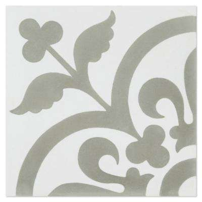 Raylen A 7-7/8 in. x 7-7/8 in. Cement Handmade Floor and Wall Tile