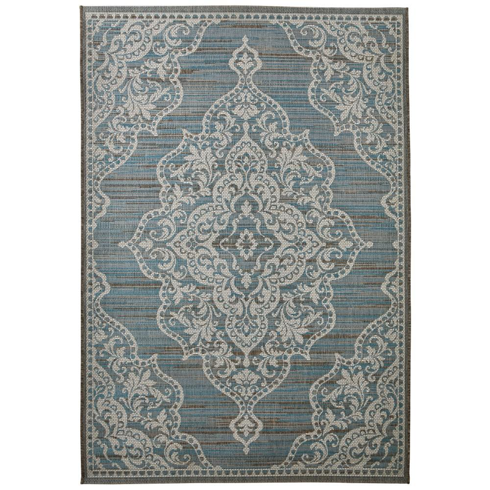 Home decorators collection cecil teal 8 ft 6 in x 13 ft for Home decorators rugs