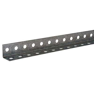 1-1/4 in. x 48 in. Zinc-Plated Punched Angle