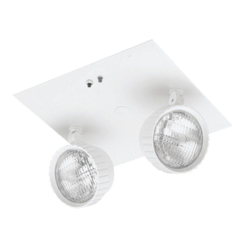 Lithonia Lighting 2 Light Incandescent Recessed Emergency Unit