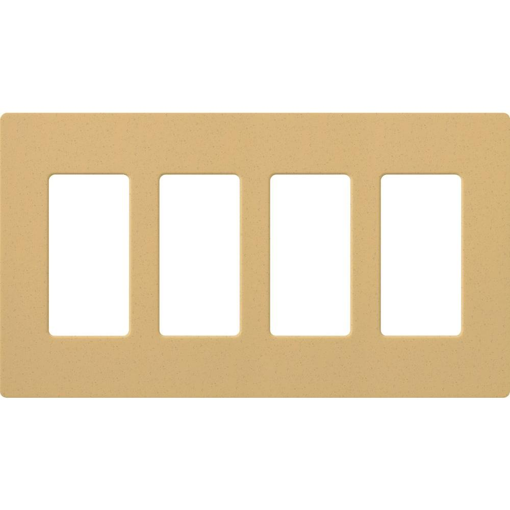 4 Switch Plate 4  White  Rocker Switch Plates  Switch Plates  The Home Depot