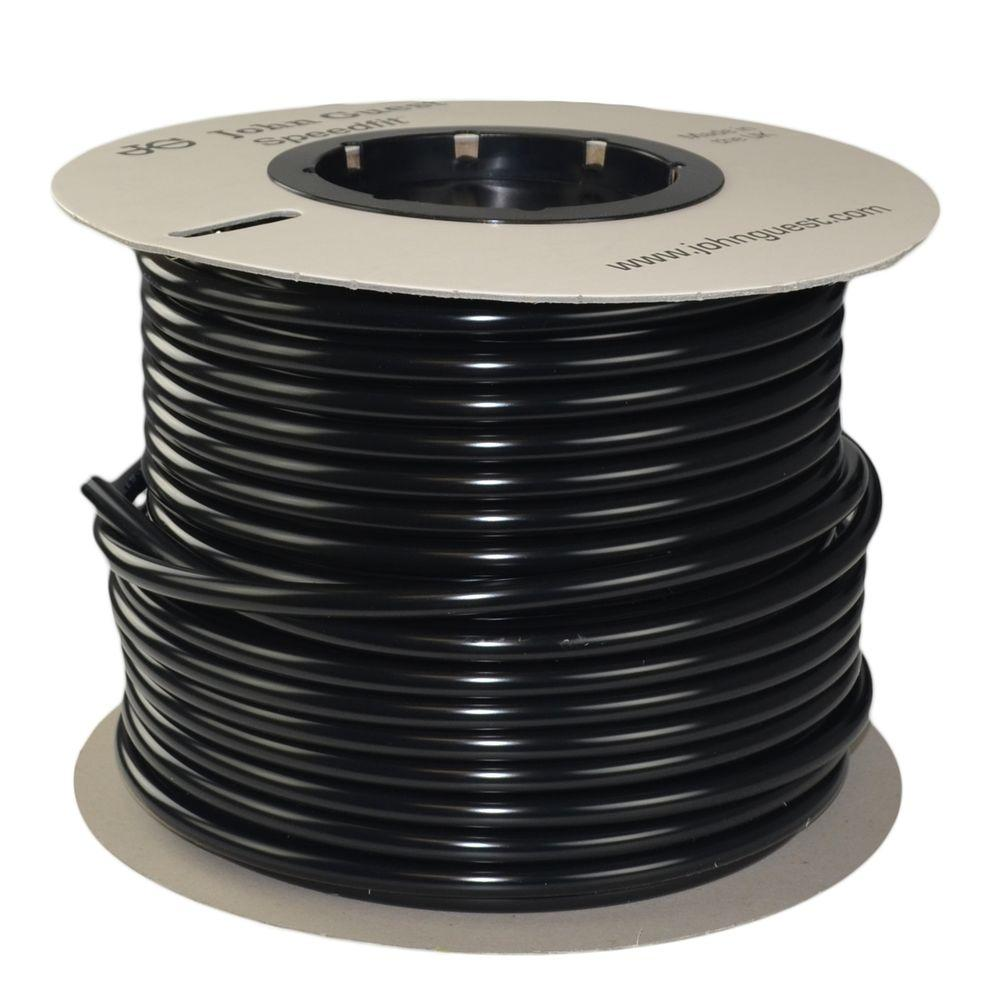 1/2 in. x 250 ft. Polyethylene Tubing Coil in Black