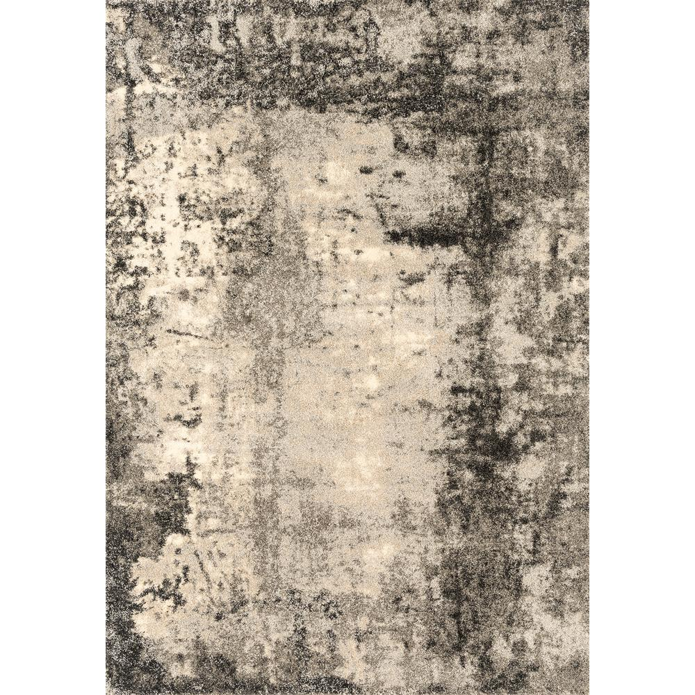United Weavers Of America Serenity Trance Grey 5 Ft 3 In X 7 Ft 2