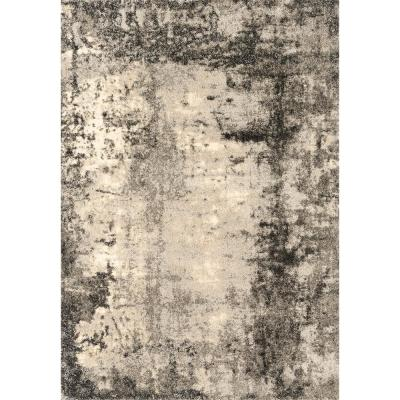 Serenity Trance Grey 5 ft. 3 in. x 7 ft. 2 in. Area Rug