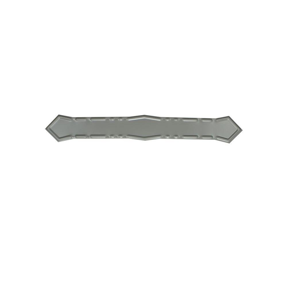 Spectra Metals Dove Gray Aluminum Diamond Downspout Band