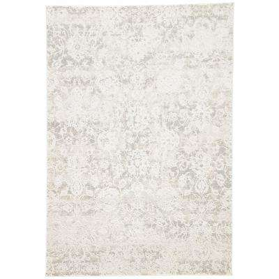 Machine Made Pumice Stone 8 ft. x 10 ft. Floral Area Rug