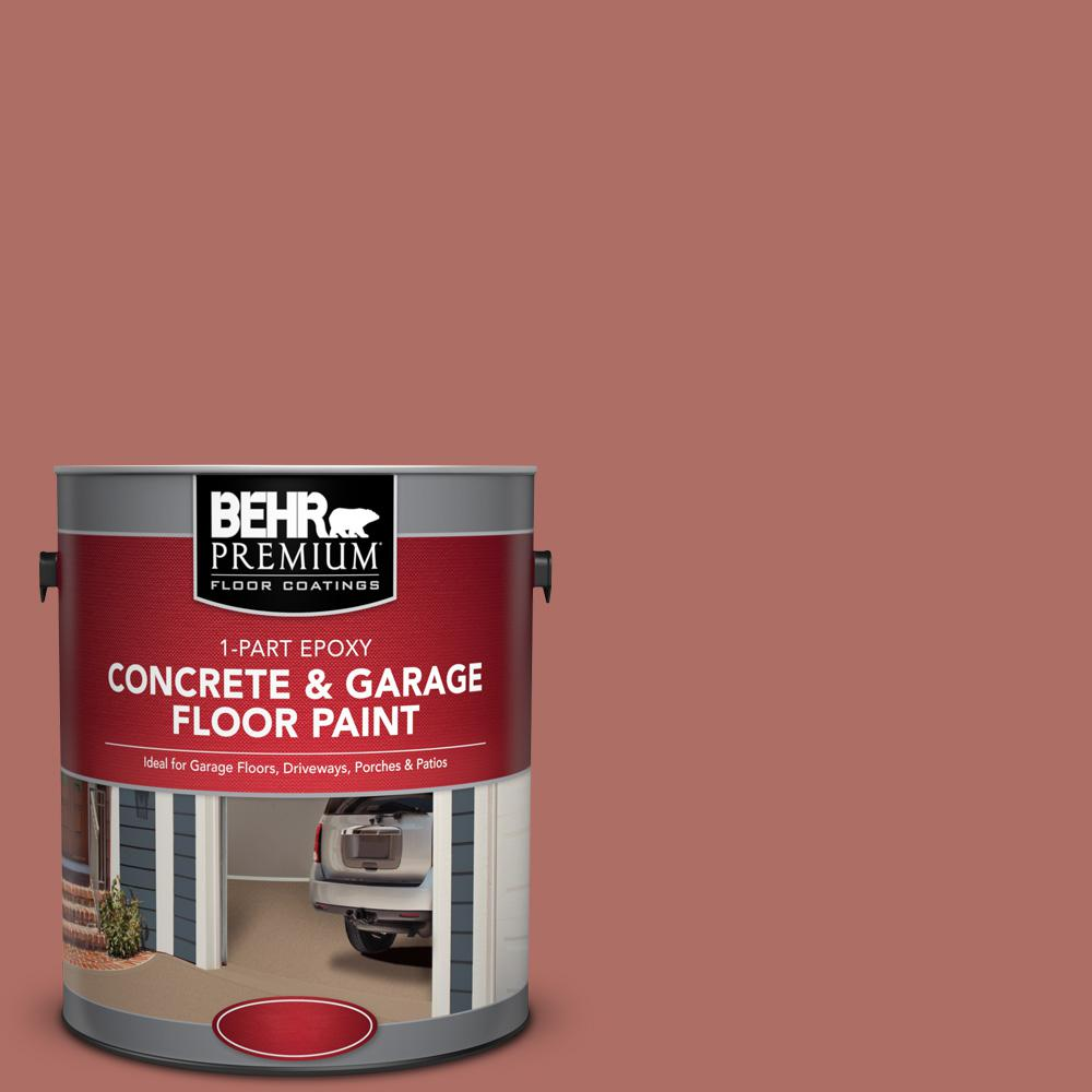 1 gal. #PFC-01 New England Brick 1-Part Epoxy Concrete and Garage