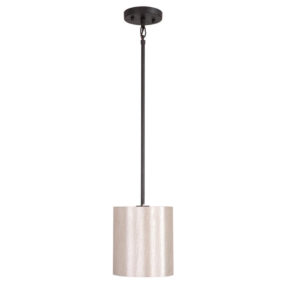 Yosemite home decor lyell forks family 1 light ebony for Home decorations mini pendant