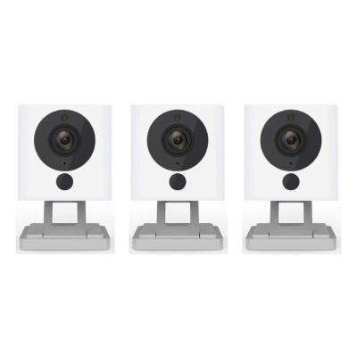 1080p WyzeCam HD Wi-Fi Indoor Smart Home Camera, Night Vision, 2-Way Mic, Alexa Ready, Free 14-Day Cloud Drive (3-Pack)