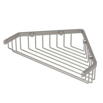 Shower Basket in Satin Nickel