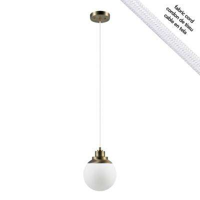 Portland 1-Light Brass Pendant