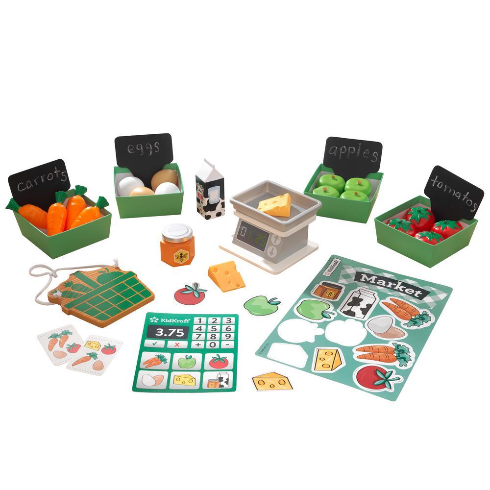 Farmer'S Market Play Pack For LetS Pretend Shopkeeper