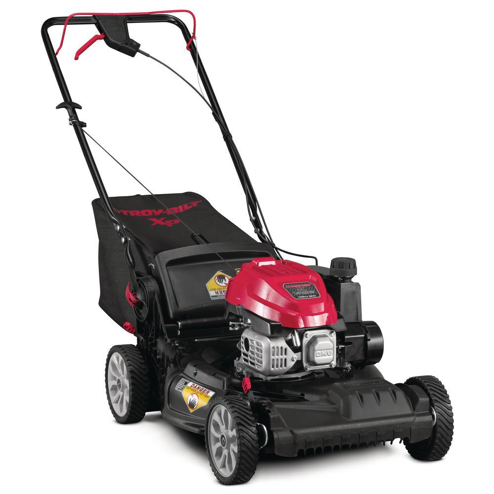 "Troy-Bilt XP 21 "" 149 cc Gas Vertical Storage Walk Behind Self Propelled Lawn Mower"