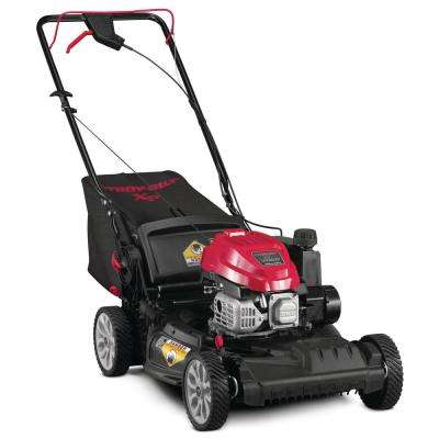 XP 21 in. 149 cc Gas Vertical Storage Walk Behind Self Propelled Lawn Mower with 3-in-1 TriAction Cutting System