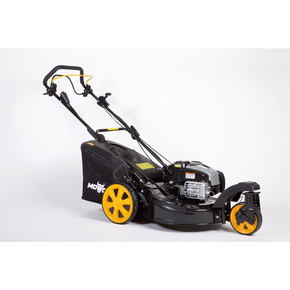 MOWOX 21 in. 3-n-1 Zero-Turn Self-Propelled Gas High Wheel Walk Behind Mower with B&S 725is, 163 cc Engine with InStart
