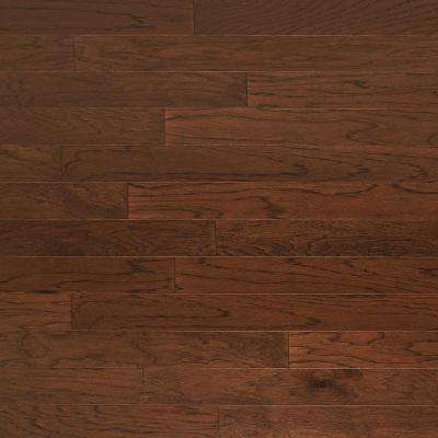 Take Home Sample - Hickory Truffle Engineered Click Hardwood Flooring - 5 in. x 7 in.
