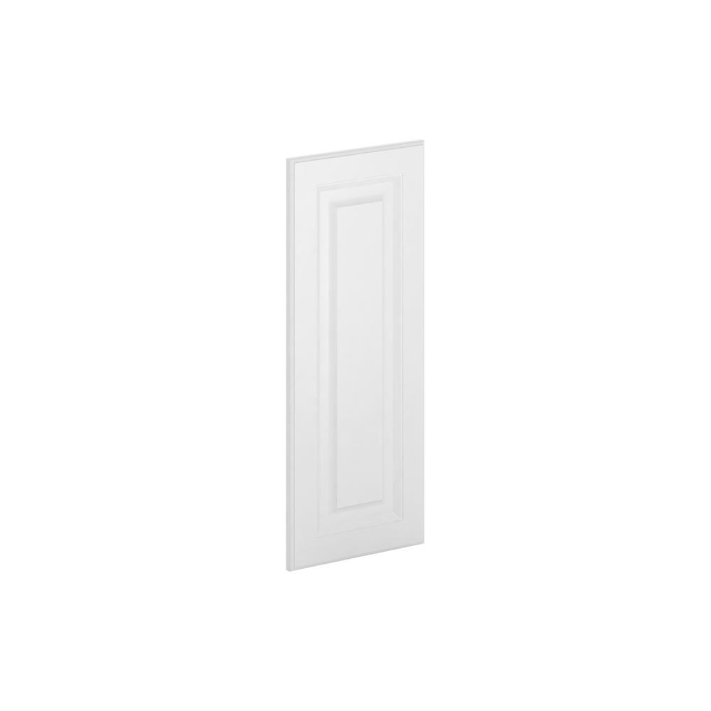 12x30x0.75 in. Madison Wall Deco End Panel in Warm White