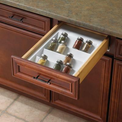 2 in. x 14.75 in. x 21 in. Spice Drawer Organizer