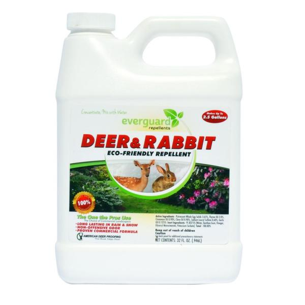 Everguard 32 Oz Deer And Rabbit Repellent Concentrate