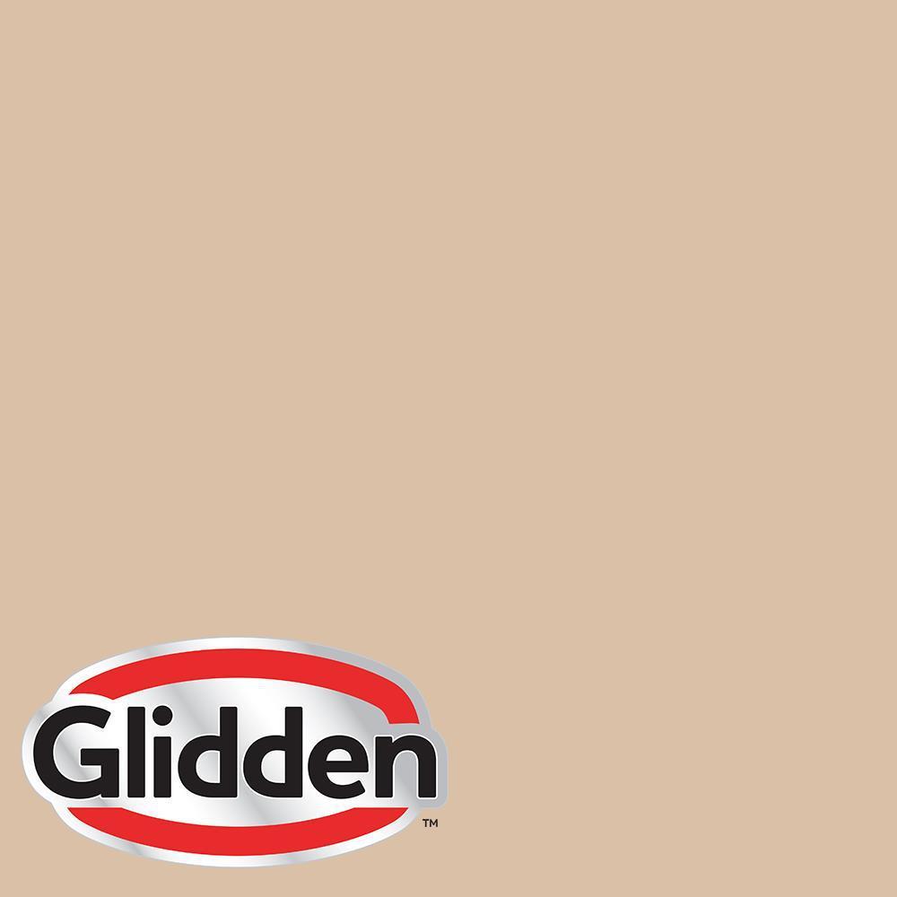 Glidden Essentials 1 gal  #HDGO49 Dapper Tan Semi-Gloss Exterior Paint