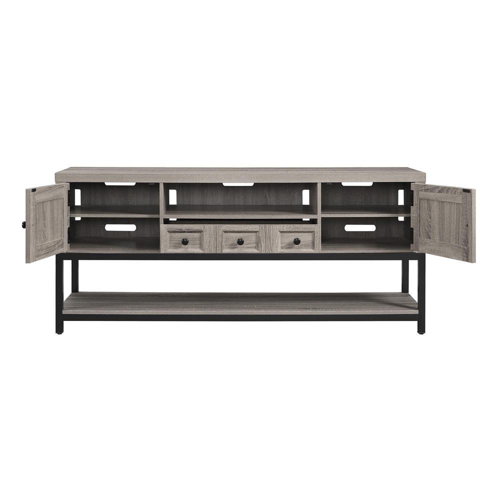 Aiken 70 in. Sonoma Oak Multipurpose TV Console HD07717