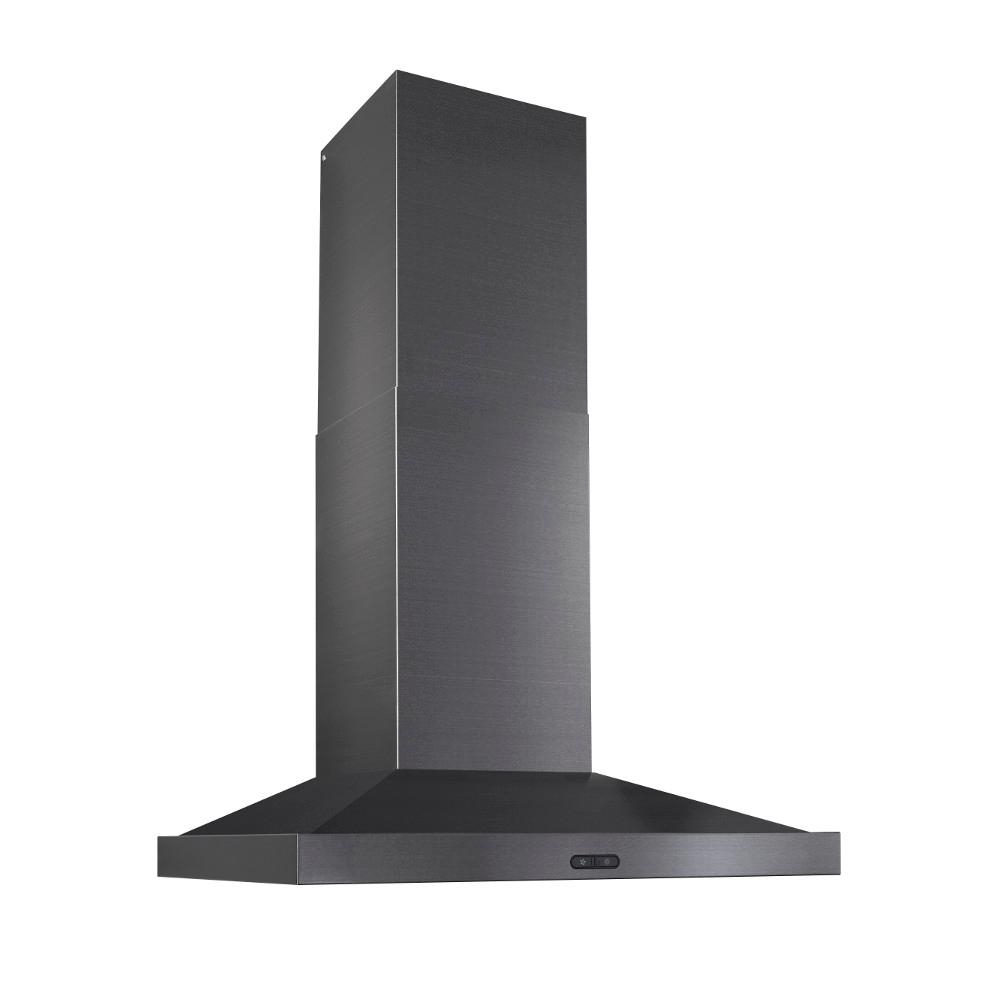 Broan Chimney Hoods ~ Broan elite in cfm convertible wall mount chimney
