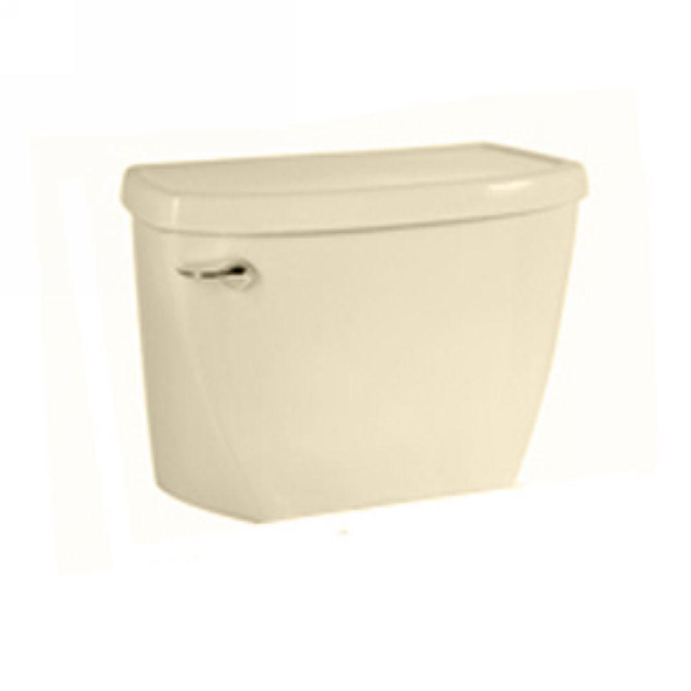 American Standard Yorkville Pressure-Assisted 1.6 GPF Single Flush Toilet Tank Only in Bone