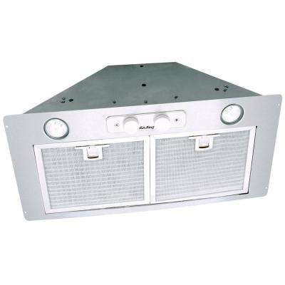 SEV Series 24 in. Insert Range Hood Power Pack with Light in Stainless Steel