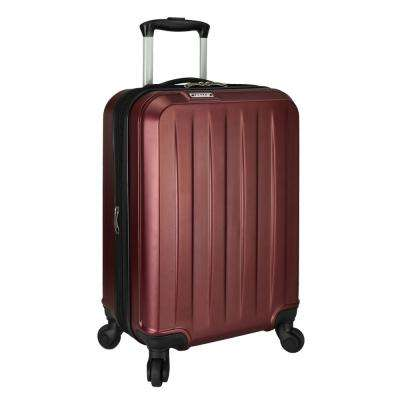 Elite Dori Expandable Carry-On Spinner Luggage, Burgundy