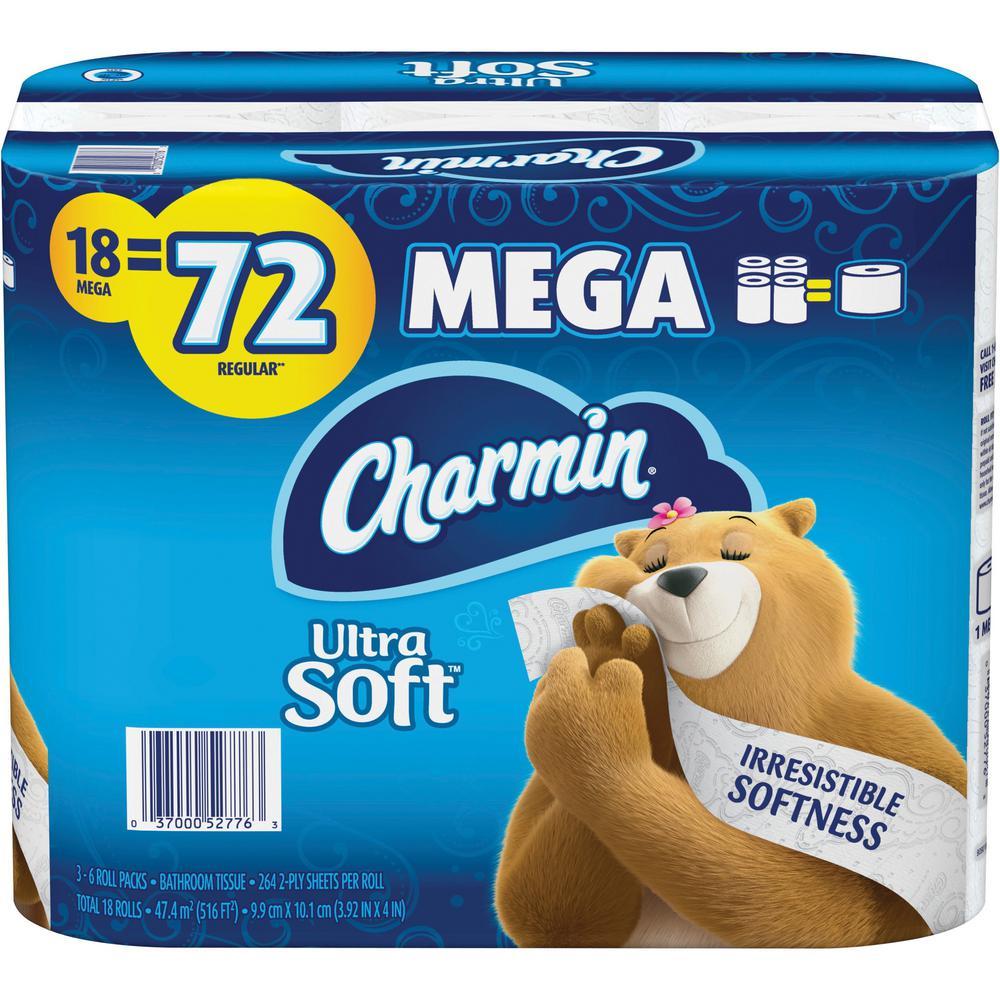LoCor 2-Ply Premium High Capacity White Jumbo Toilet Tissue (12-Rolls per Carton)