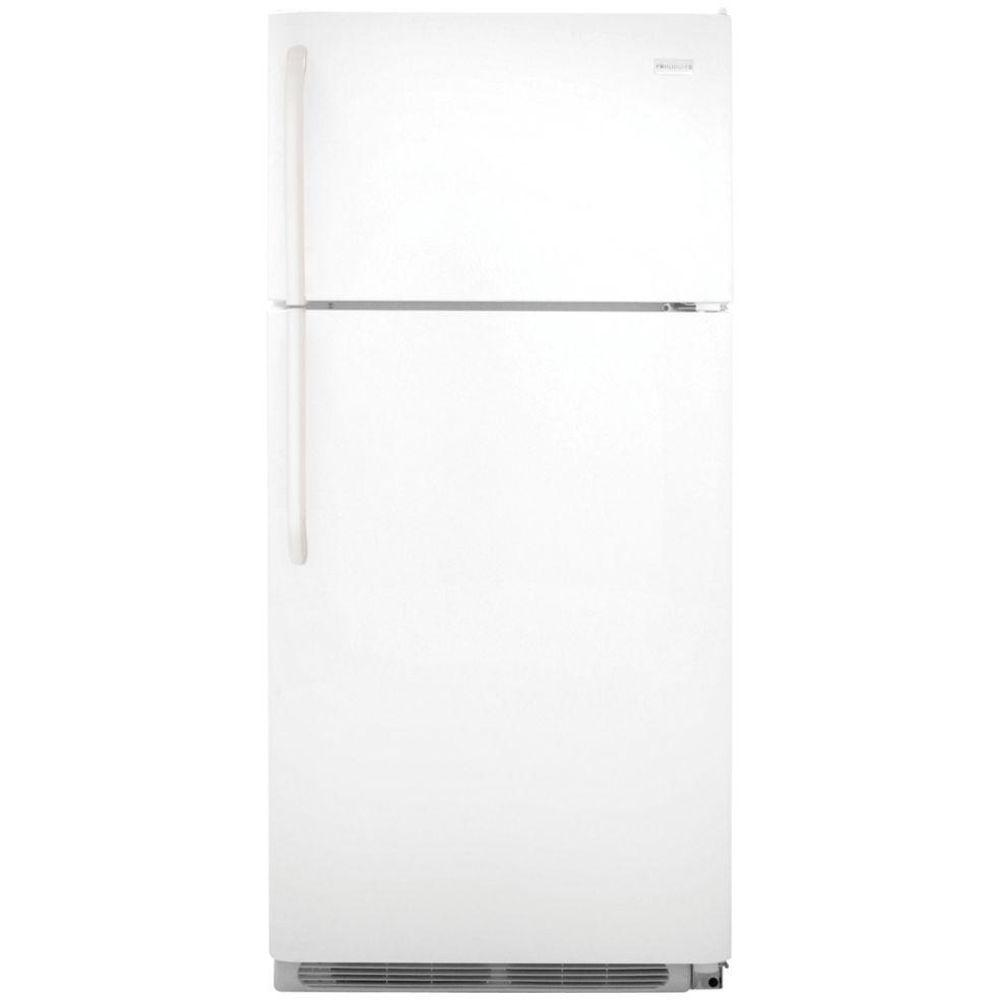 Frigidaire 18 cu. ft. Top Freezer Refrigerator in White