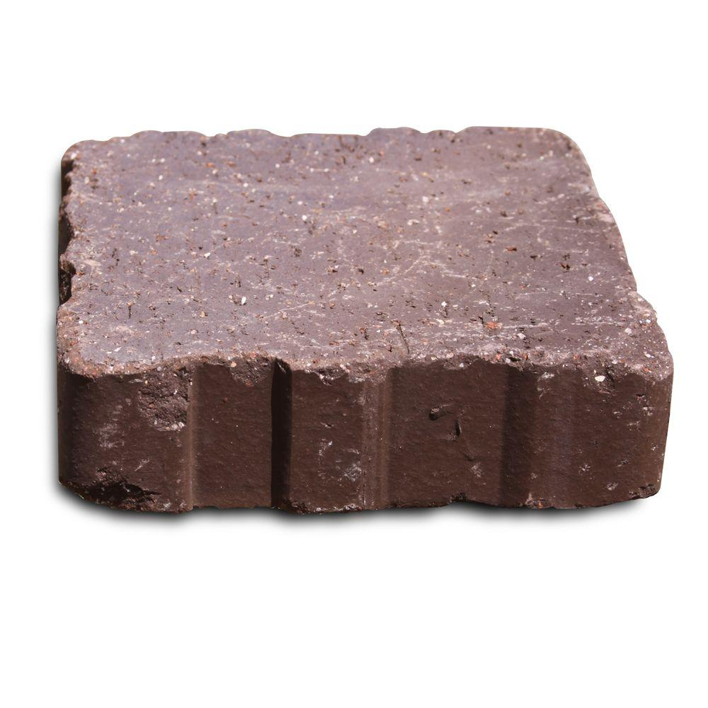 null Relic 6 in. x 1.63 in. x 6 in. Brown Flash Clay Paver
