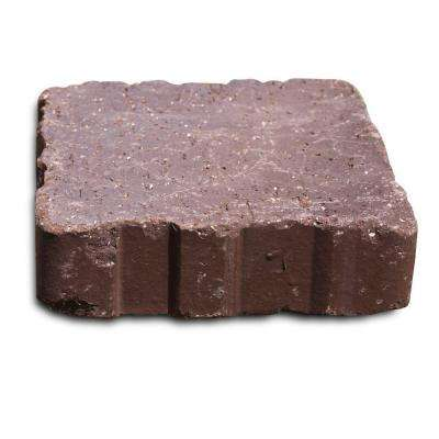 Relic 6 in. x 1.63 in. x 6 in. Brown Flash Clay Paver