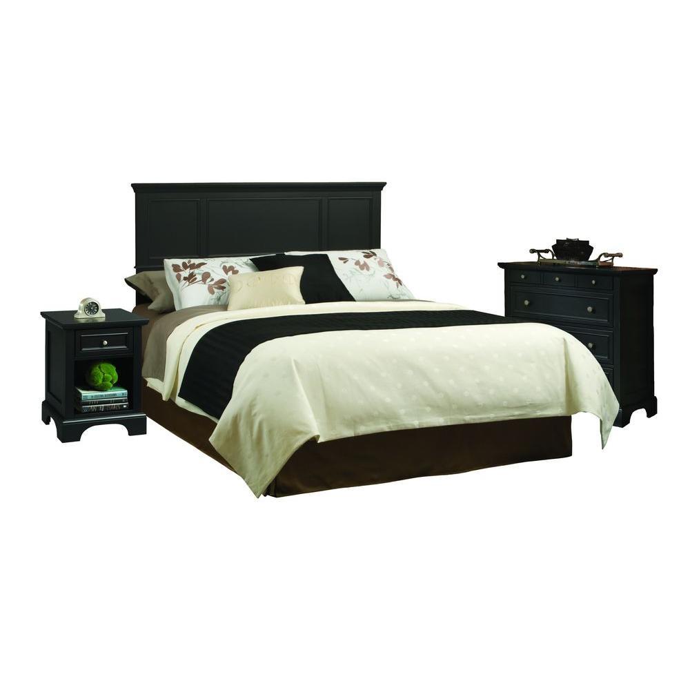 Queen - Black - Bedroom Sets - Bedroom Furniture - The Home Depot