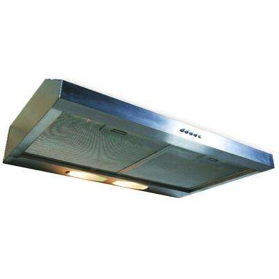 Builder Series 30 in. Under Cabinet Hood with 190 CFM in Stainless Steel