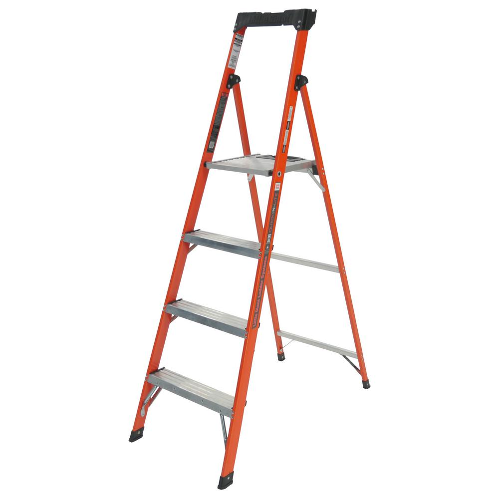250 Lb Ladder Rating 10 : Little giant ladder systems quick n lite ft fiberglass