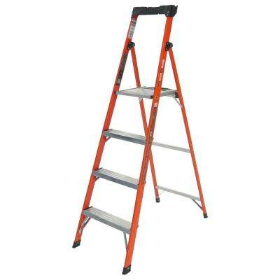 Quick-N-Lite 6 ft. Fiberglass  Type I 250 lbs. Rated Ladder