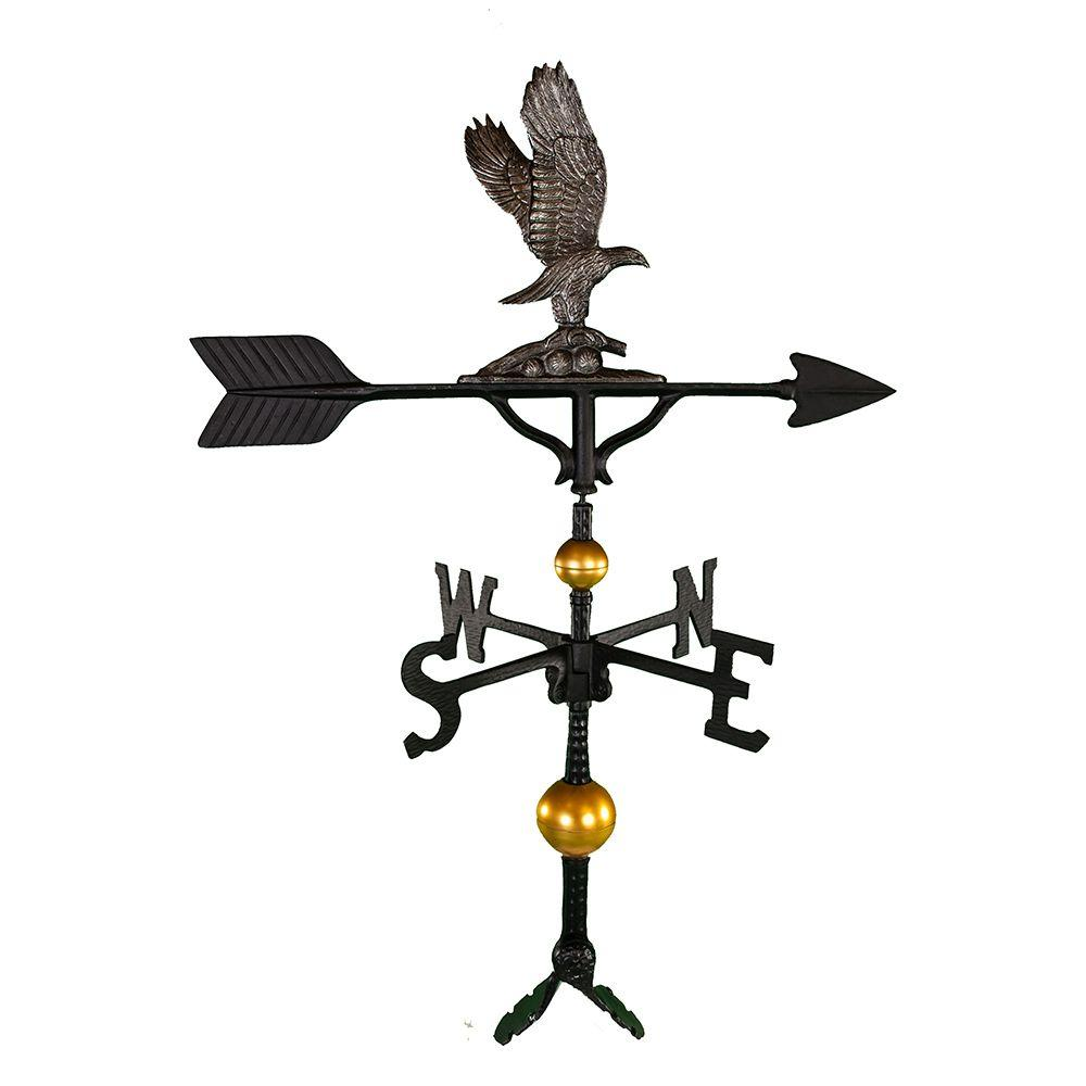 32 in. Deluxe Swedish Iron Eagle Weathervane