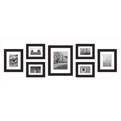9-Opening 4 in. x 6 in. Matted Picture Frame
