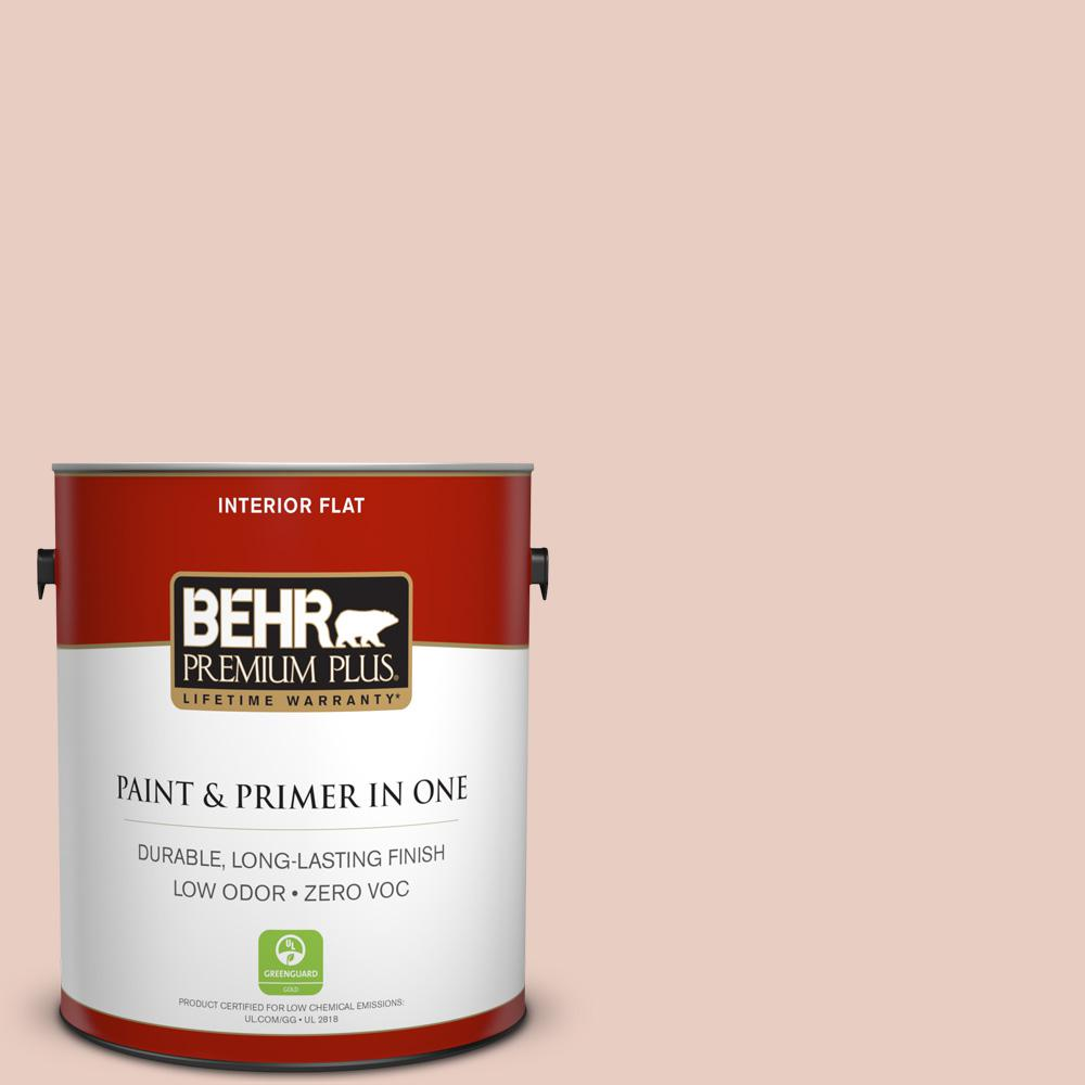 BEHR Premium Plus 1-gal. #230E-2 Malibu Coast Zero VOC Flat Interior Paint