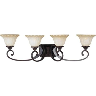 Allentown 4-Light Oil-Rubbed Bronze Bath Vanity Light