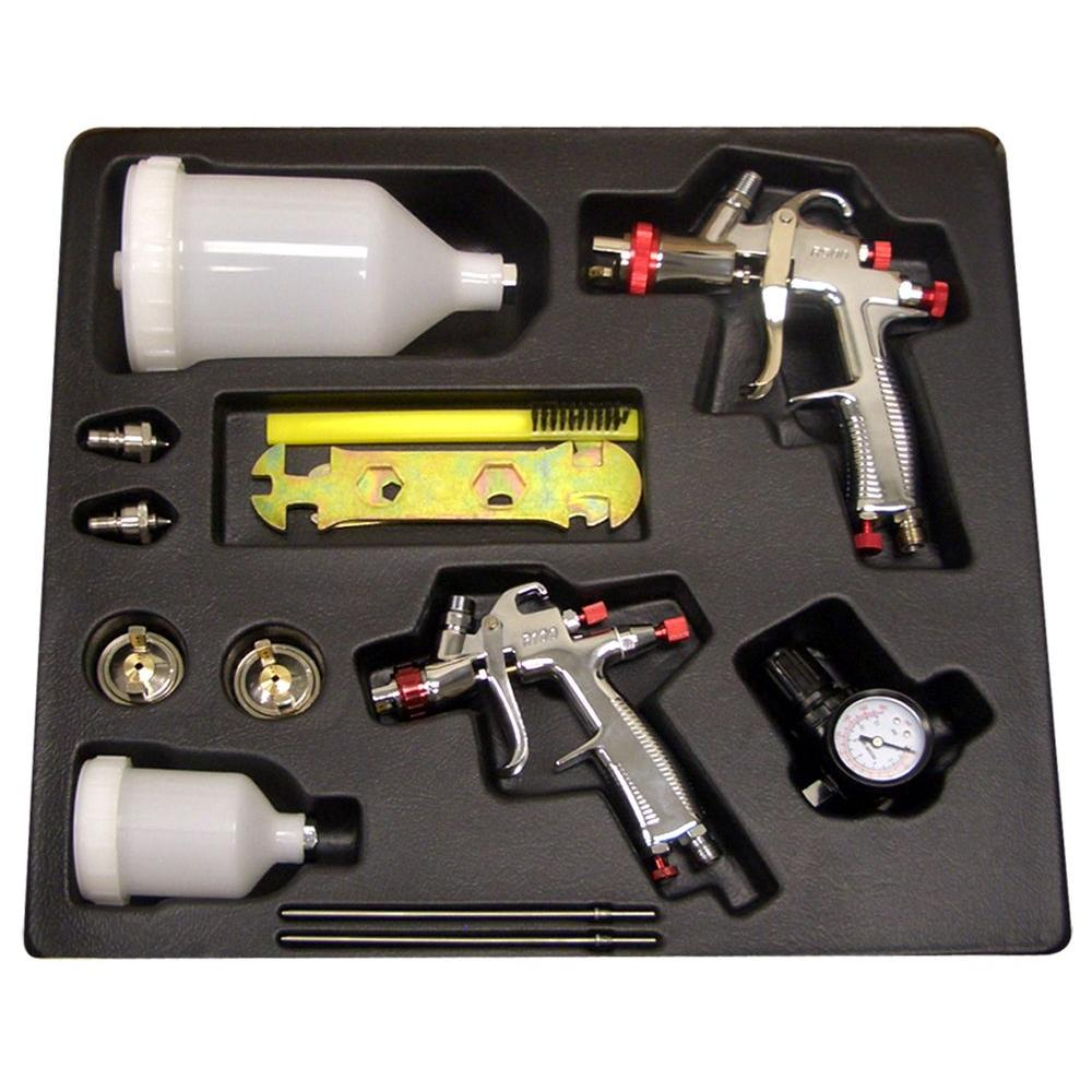 SPRAYIT LVLP Gravity Feed Spray Gun Kit